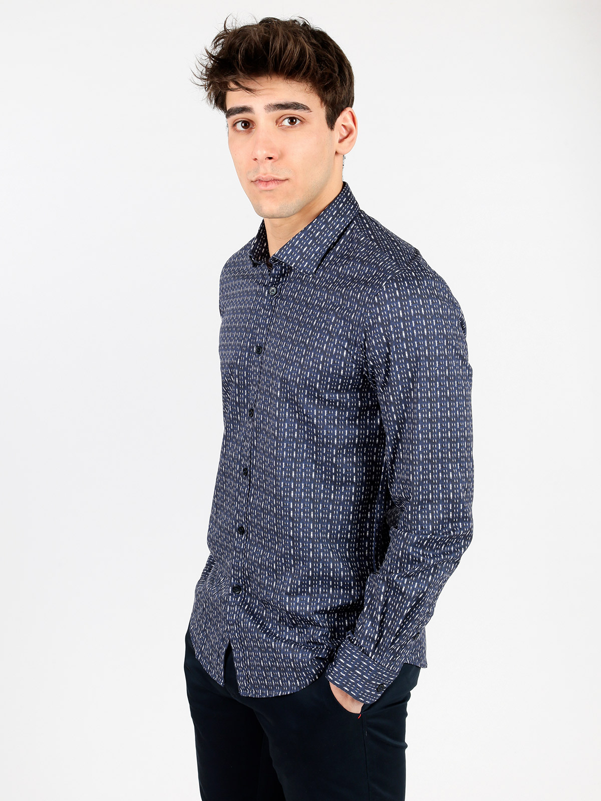 Long-sleeve Shirt Fancy