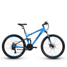 26 inch mountian bicycle aluminum alloy soft tail frame front shock 24 speed Variable speed Off