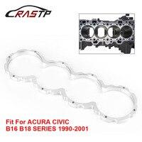RASTP Aluminum Engine Block Guard for Honda Acura Civic B18A B16A B18C B16 B18B B18 Series 1990 2001 RS HR009