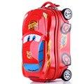 18,20 polegada criança dos desenhos animados mala, Spinner, Abs, Meninas bagagem, Criança rolamento bagagem com rodas, Crianças saco trolley de viagem