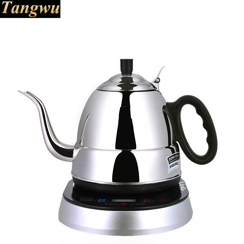 food grade 304 stainless steel induction electric kettle automatic power off free shipping automatic electric food grade 304 stainless steel electric kettle hot insulation automatic prevent parch