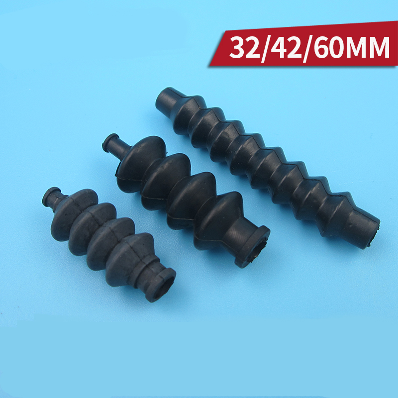 5PCS 32mm 42mm 60mm Waterproof Organ Sleeve Linkage Pushrod Boots Rubber Flex rod Boots for font