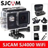 Oferta SJCAM SJ4000 WiFi Cámara de Acción deportes DV 1080P 2,0 pulgadas pantalla HD buceo 30M impermeable mini videocámara Original SJ 4000 Cam