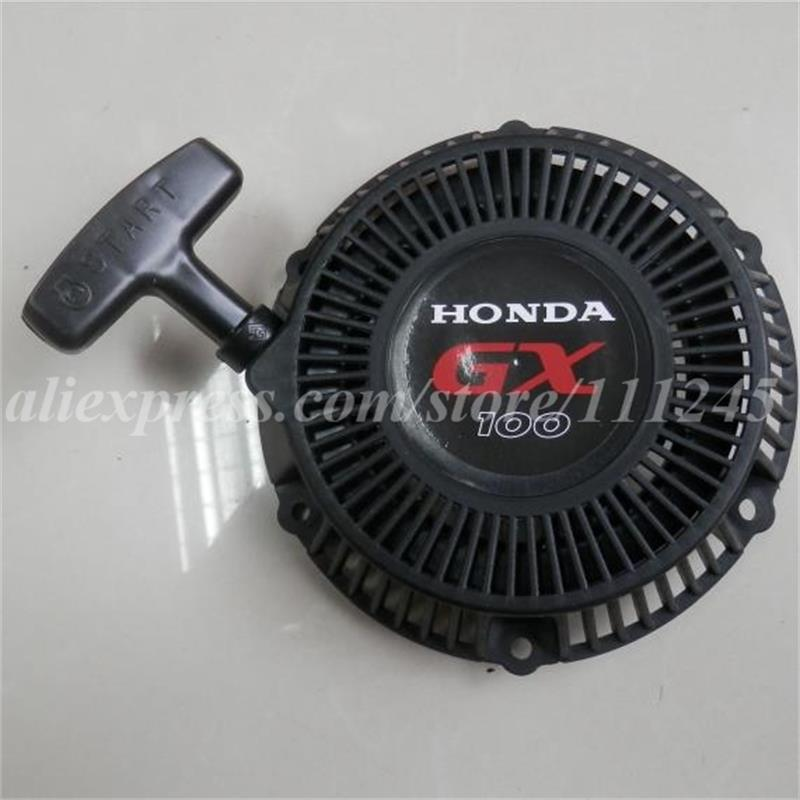 RECOIL STARTER ASSEMBLY NYLON RATCHET FOR HONDA GX100 ENGINE / MOTOR FREE POSTAGE CHEAP PULL START  REPLACEMENT PARTS recoil starter assembly steel ratchet for honda gx240 gx270 rewind starter repl 28400 ze2 w01za