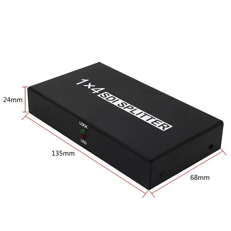 Adapter Suporte HD-SDI, SD-SDI e 3G-SDI Sinal