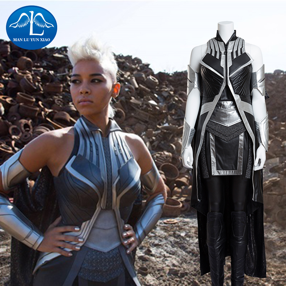 MANLUYUNXIAO X-Men Costume: Apocalypse Storm Ororo Munroe Cosplay Costume Deluxe Outfit Halloween Cosplay For Adult Women