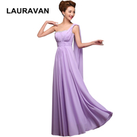 light purple lavender roayl blue red sweetheart long one shoulder a line sweetheart floor length dress girls bridesmaid dresses