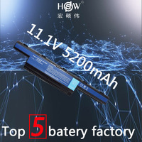 HSW 5200MAH 6cells AS10D31 Battery for ACER 4741 5741 5742 5750 4750g 5560G 5742G 5750G AS10D51 AS10D61 AS10D71 AS10D41 bateria