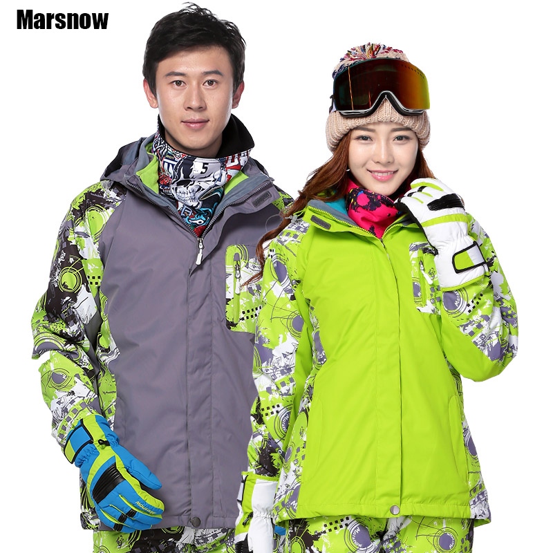 Marsnow Winter jacket men M-3XL double layer waterproof windproof warm snow Hooded Jacket Coat overcoat men Ski Outwear Male цена