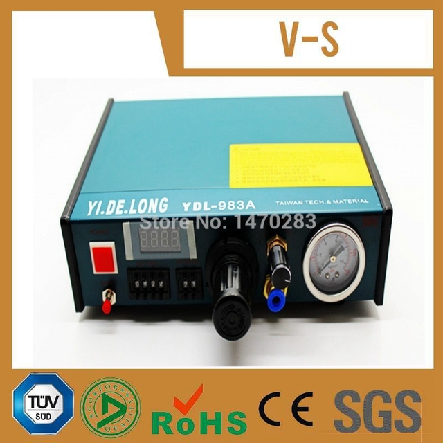 Free Shipping 220V 983A Professional Precise Digital Auto Glue Dispenser Solder Paste Liquid Controller Dropper