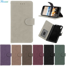 Luxury PU Leather + Silicone Phone Case For Alcatel A3 Case 5.0″ Wallet Flip Cover For Fundas Alcatel A3 Case Capa