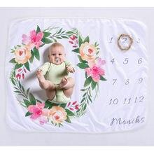 Одеяло для фотографирования новорожденных 76x102 см