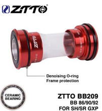 ZTTO CERAMIC BB209 BB92 BB90 BB86 Press Fit Bottom Brackets For Road Mountain Bike Parts 24mm Crankset BB GXP 22mm Chainse ztto bicycle bottom bracket bb109 bb68 bsa68 bsa73 mtb road bike parts for parts 24mm k7 22mm gxp crankset