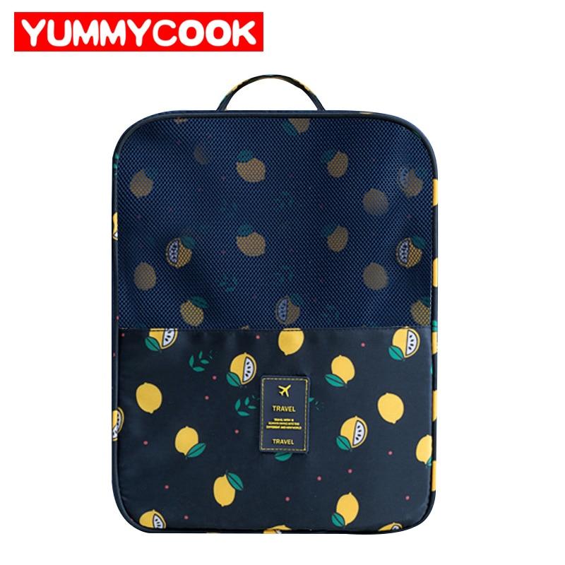 Travel Shoes Bags Womens Mens Lemon pattern Home Storage Organization Wholesale Bulk Lots Accessories Supplies Products