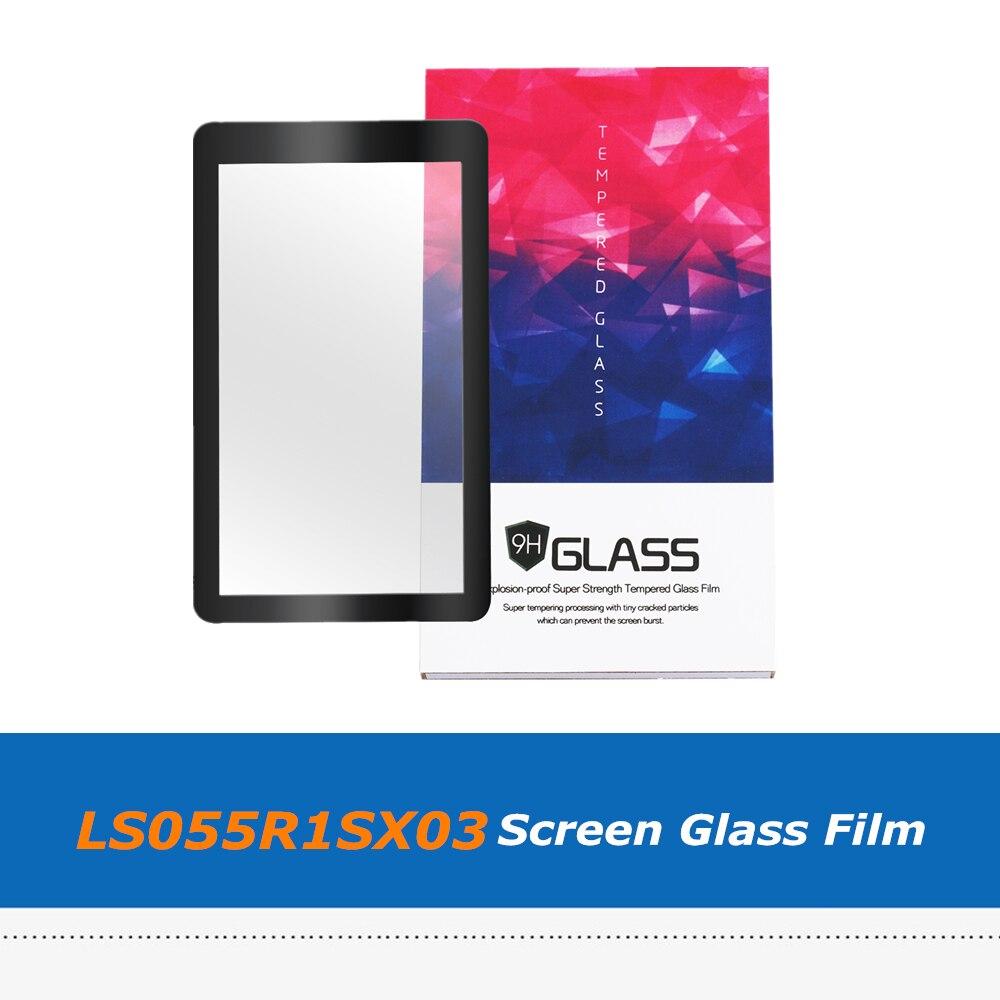 2 шт защитные стекла совместимы для 5,5 дюймов LCD 2560x1440 2K LS055R1SX03 для ANYCUBIC Photon Wanhao D7 светильник отверждения 3d принтер