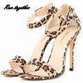 Novo verão sandálias de salto alto mulher sapatos de festa de casamento das senhoras boate fivela sapato mulheres bombas saltos finos sapato loslandifen