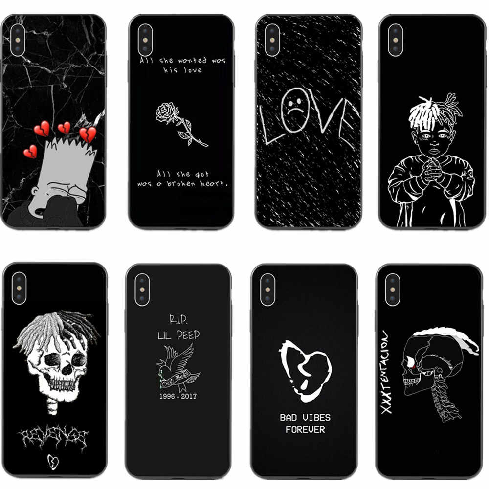 Xxxtentacion Cases For Iphone X Xs Xr Xs Max Lil Peep Crybaby