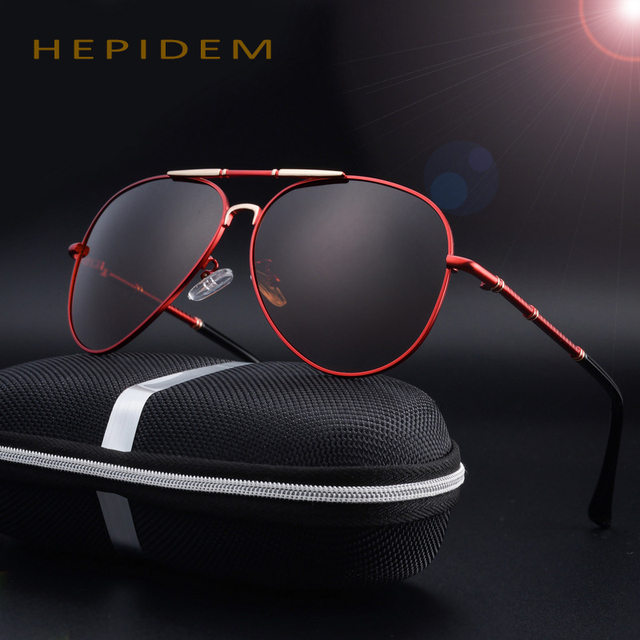High Quality Women Sunglasses 2017 New Classic Brand Designer Polarized HD Men Sun Glasses Fishing Driving UV400 Shades with box