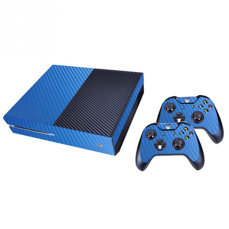 High Quality Durable Carbon Fiber Vinly Skin Sticker for Microsoft Xbox One and 2 controller skins Stickers for XBOXONE 5 Colors microsoft xbox 360 hd dvd skin new ice blue system skins faceplate decal mod
