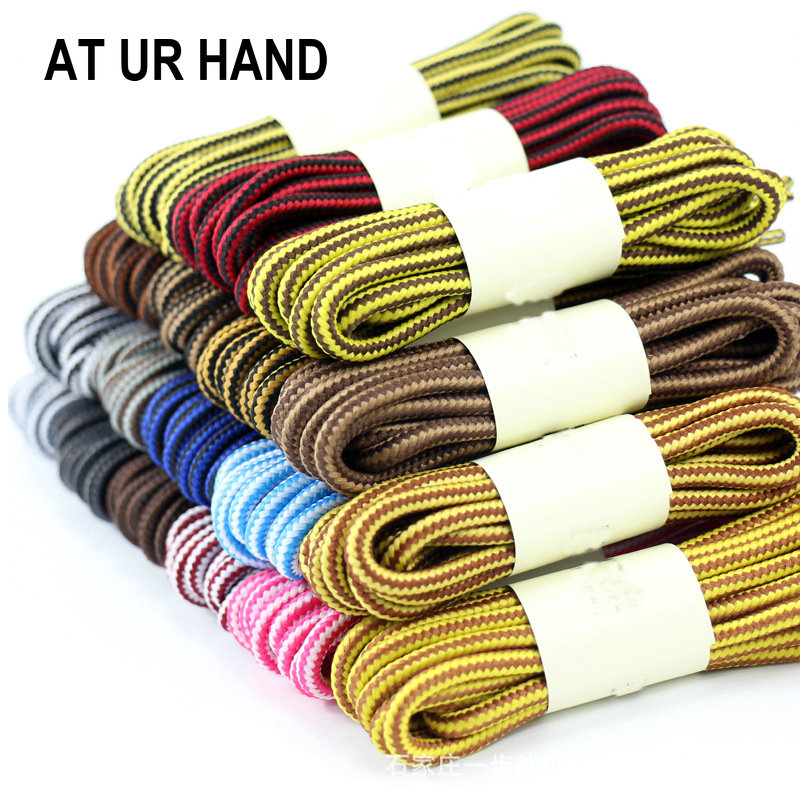 Fashion 120 cm new design rope shoelaces round casual sneakers shoelaces skate boot shoe laces strings