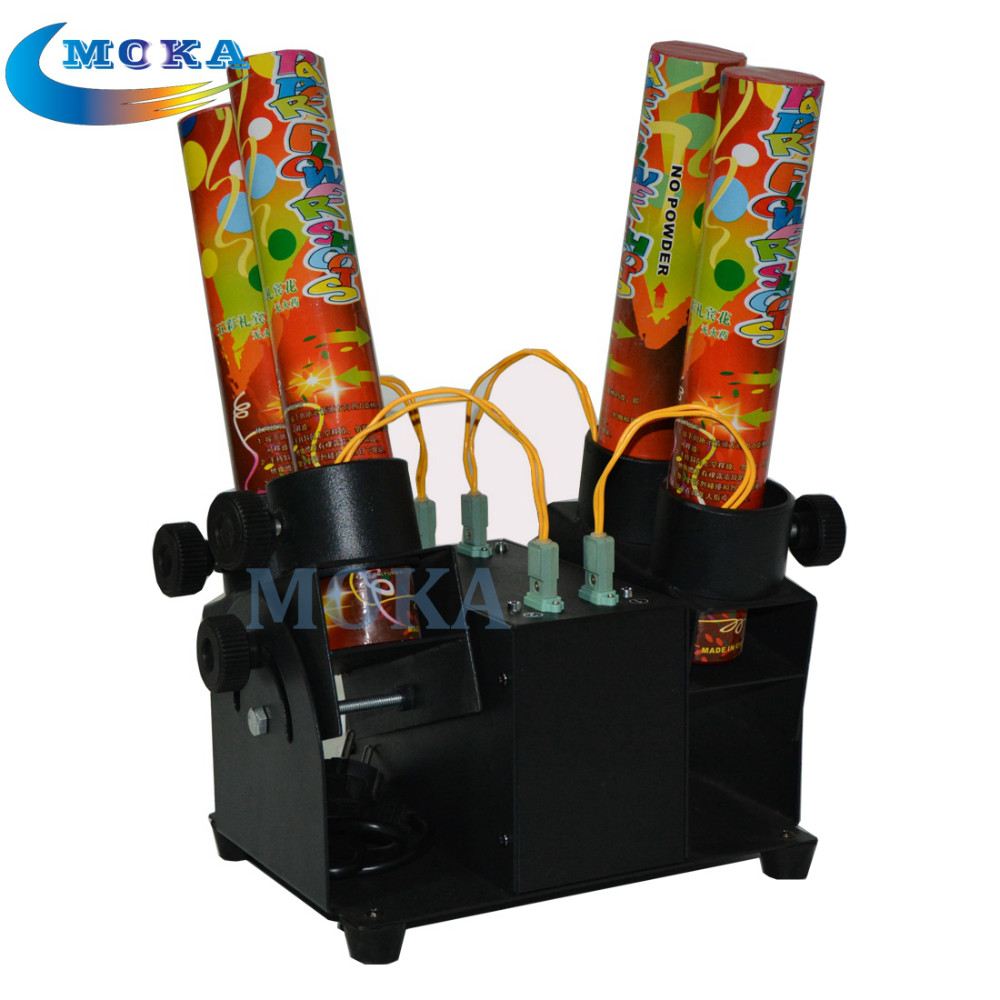 Paper Cannon Confetti Machine 4 Head Confetti Shooter with Special Effects Continuous Flow Confetti Cannon paper cannon confetti machine 4 head confetti shooter with special effects continuous flow confetti cannon