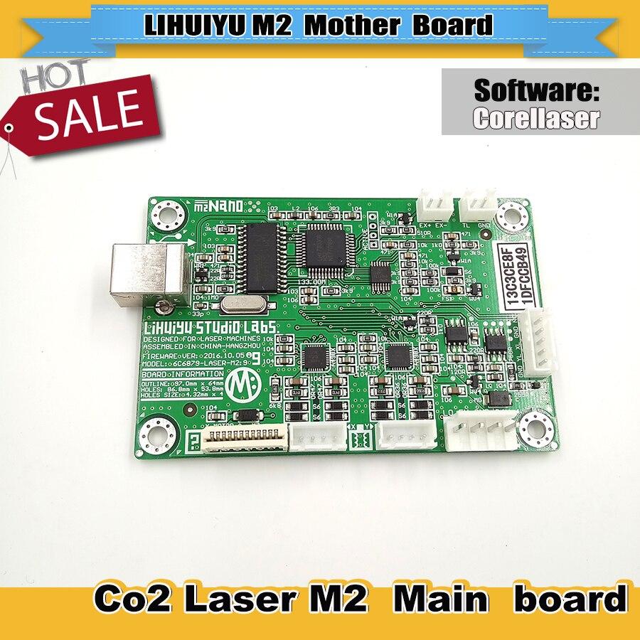 LIHUIYU Nano carte mère principale M2 pour Mini Laser graveur cutter 3020 4060 contrôle