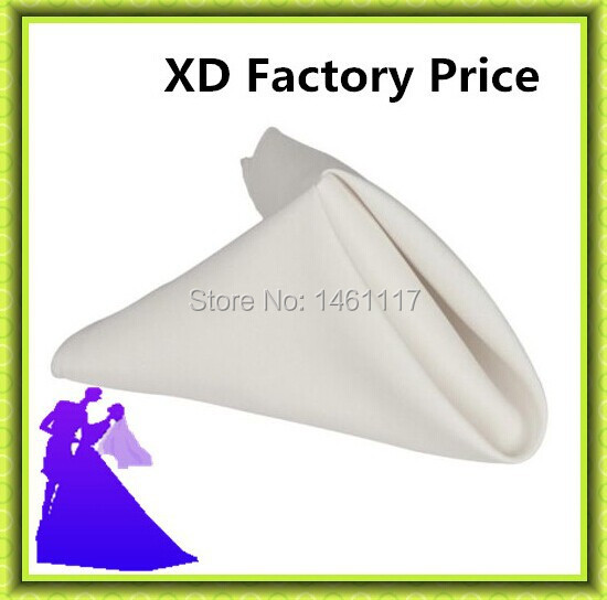 Free shipping 100% polyester table napkin for hotel wedding event from China factory price