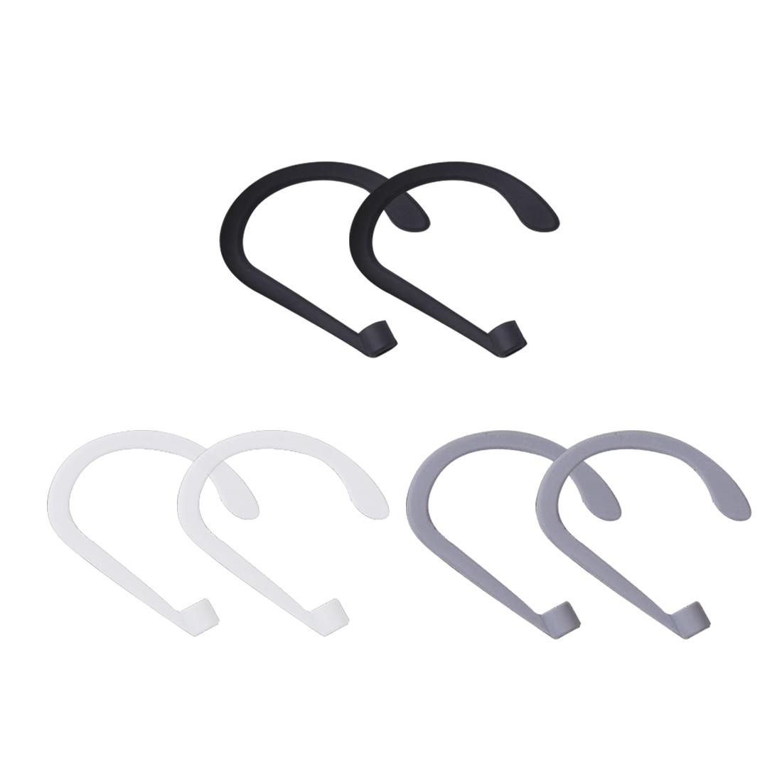 Silicone Earbuds Earphone Holder Ear Hooks for Apple Airpods Earhook Ear Holder Bluetooth Wireless Headphone fone de ouvido in Earphone Accessories from Consumer Electronics