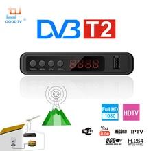 U2C DVB T2 Wifi TV Tuner DVB-T2 Receiver Full-HD 1080P Digital Smart TV