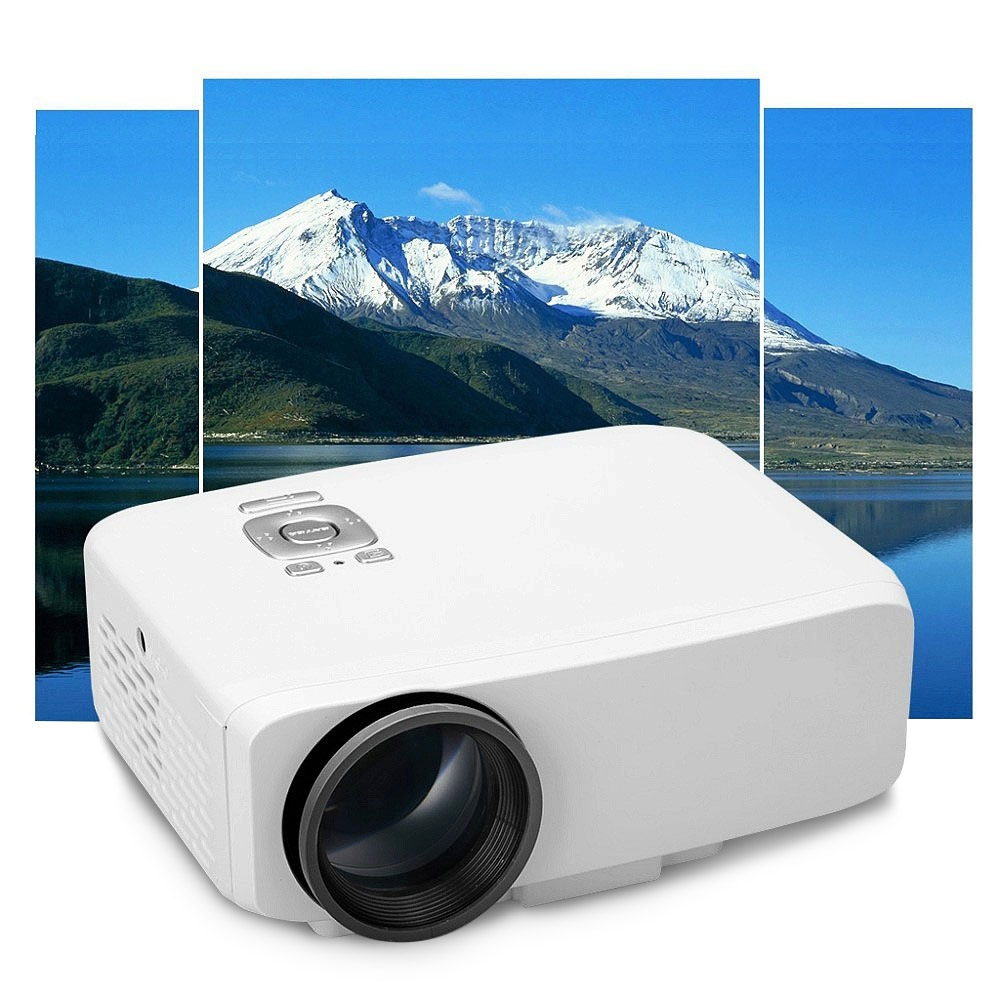 800 Lumens Home Theater Mini Portable Led Multimedia: New GP9S LCD Mini LED Portable Projector 800 Lumens 16:9