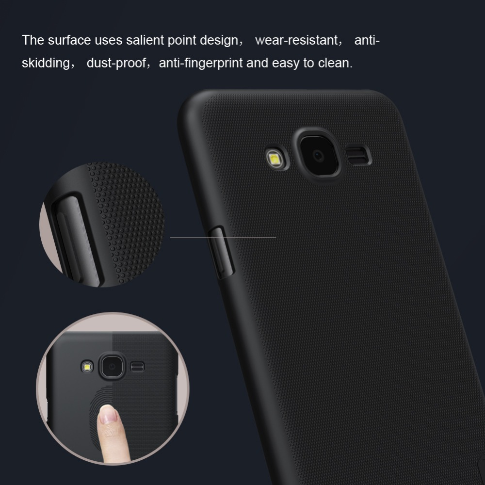 finest selection e2885 71a48 US $6.62 42% OFF|For Samsung Galaxy J7 Nxt Phone Case Nillkin Super Frosted  Shield Hard plastic Case For Samsung J7 Nxt J701F case cover 5.5 inch-in ...