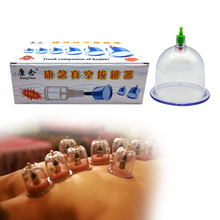 1box Vacuum Cupping Glasses Suction Jars Chinese Acupuncture Physiotherapy Cupping Set Health Care Sucker Vacuum Cans Ventosa