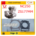 NC250 250CC ENGINE 4 valve ZONGSHEN CYLINDER head GASKET xmotos kayo asian wing BSE dirt pit off road bike atv accessories parts