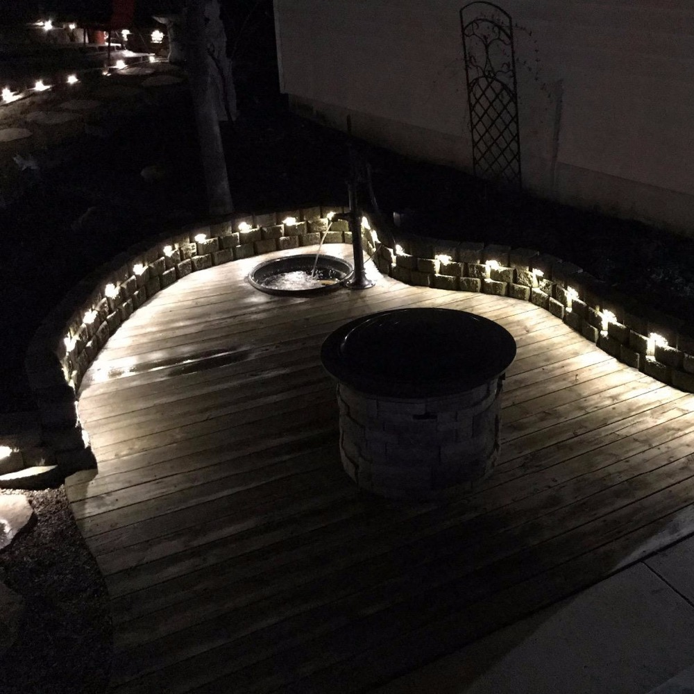 Outdoor Stairs Lighting. Antique Outdoor Recessed Inset Banister Deck  Stairs Lighting Yacht Decoration Led Lights