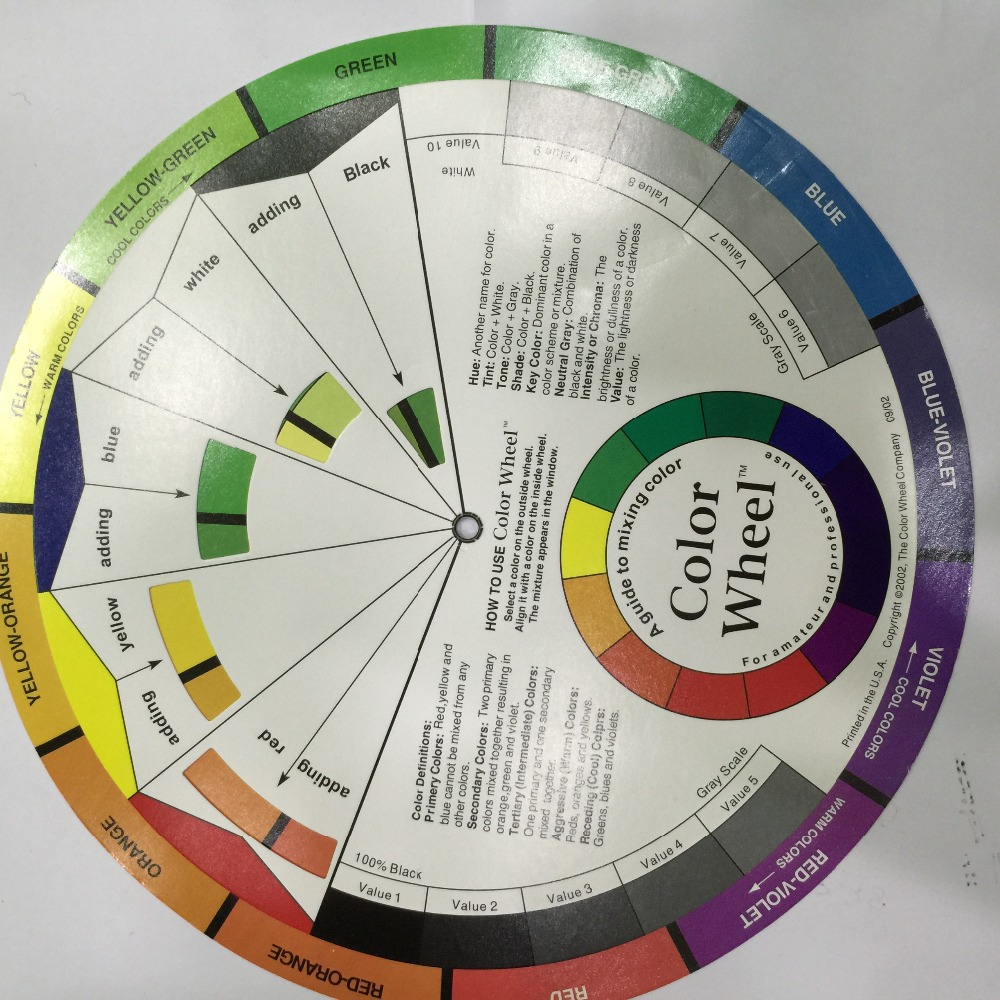 Online color wheel games - Permanent Makeup Micro Pigment Color Wheel Tattoo Permanent Makeup Accessories Ink Color Wheel Swatches China