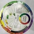 Roda de cores Micro pigmento maquiagem permanente tatuagem maquiagem permanente acessórios roda de amostras