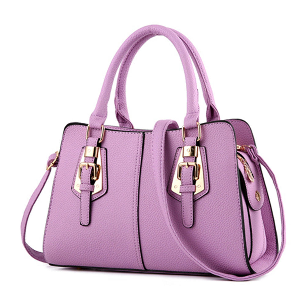 2d5b3203ce12 Hot sale 2018 Fashion Designer Brand Women Leather Handbags ladies Shoulder  bags tote Bag female Retro Vintage Messenger Bag-in Shoulder Bags from  Luggage ...