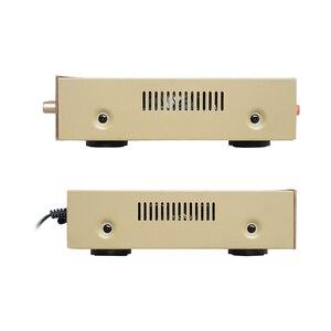 Image 4 - SUNBUCK 5 CH ハイファイ Bluetooth ステレオ AV アンプホームシアターオーディオプロのカラオケラジオ Bluetooth の電源アンプ 300 ワット