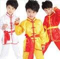 Древняя китайская костюм хмонг одежды шестьдесят - один дети танцуют одежды мальчиков и китайский кунг-фу боевые искусства костюм подростков костюмы