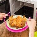 Кухонная Пароварка стеллаж для хранения тарелок многоцелевой круглый пластиковый микроволновый Пароварка для риса для приготовления пищи...