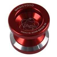 Новый Magic йо-йо N8 супер профессионального йо-йо + строка + Бесплатная доставка + Бесплатные Перчатки (красный)