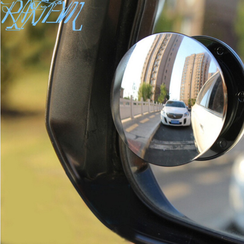 Car 360 degree Wide Angle small Round <font><b>Mirror</b></font> Rear View <font><b>Mirror</b></font> for <font><b>Ford</b></font> Focus Kuga Fiesta Ecosport Mondeo Escape <font><b>Explorer</b></font> Edge image