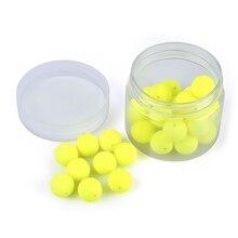 LEO Fishing Float 30pcs Bean Shape EPS Foam Float Ball for Outdoor Fishing