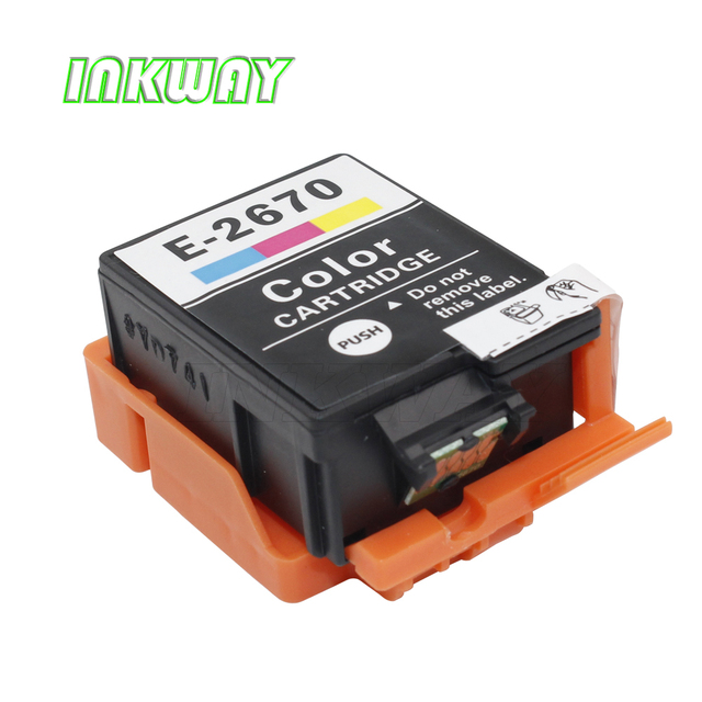 INK WAY T2661 T2670 Ink Cartridges with ink and chips  For Epson WorkForce WF-100W inkjet printer in European market