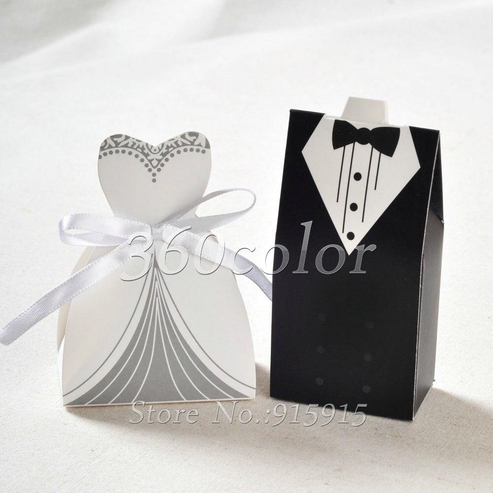 Wedding Decoration Cartoon Cute 100pcs/lot Candy Boxes Creative ...