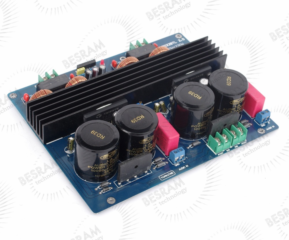 все цены на  NEW TA2022 BTL2.0 Audio Power Amplifier board 180W+180W AC22V-0-AC22V 10000UF/50V  онлайн