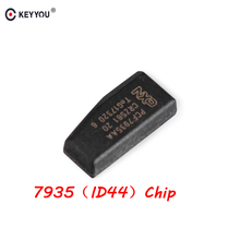 KEYYOU Car Key Chip ID44 ID 44 Chip PCF7935AA Immobilizer Chip Carbon For BMW 1 3 5 7 Series Vehicle Ignition Transponder