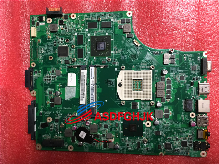 MB.PTN06.001 MBPTN06001 Mainboard for <font><b>Acer</b></font> aspire 5820 <font><b>5820TG</b></font> Laptop <font><b>Motherboard</b></font> DAZR7BMB8E0 HM55 HD5650 100% Perfect work image