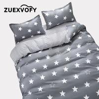 Custom Bedding Sets King Single Size Quilt Duvet Cover Set,4PCS Set Duvet cover Bed Sheet Pillowcase,Bed Set Bedclothes Star