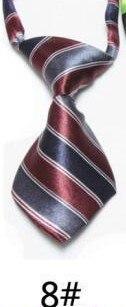 Модный галстук с принтом для мальчиков; Детский галстук; маленький галстук - Цвет: 08